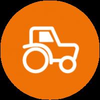 Fahrzeugbeschriftung Land und Baumaschinen